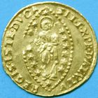 Photo numismatique  MONNAIES MONNAIES DU MONDE ITALIE VENISE, Giovanni II Corner (1709-1722) Sequin d'or.