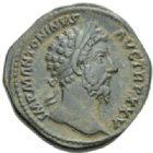 Photo numismatique  MONNAIES EMPIRE ROMAIN MARC AURELE  (César 139-161 - Auguste 161-180)  Sesterce.