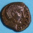 Photo numismatique  MONNAIES IBERIE- GAULE - CELTES CARNUTES (région de Chartres)  Bronze de Pixtilos.