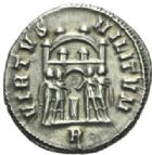Photo numismatique  MONNAIES EMPIRE ROMAIN MAXIMIEN HERCULE (César 286-305 - Auguste 306-308, 310)  Argenteus.
