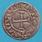 Photo numismatique  MONNAIES BARONNIALES Comté d'ANJOU FOULQUES NERA (987-1040) Grand denier.