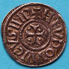 Photo numismatique  MONNAIES CAROLINGIENS LOUIS LE PIEUX, empereur (janvier 814-20 juin 840)  Denier attribué à Milan.