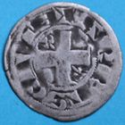 Photo numismatique  MONNAIES ROYALES FRANCAISES PHILIPPE II AUGUSTE (1180-1223)  Denier du 2e type frapp� � Arras.