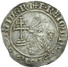 Photo numismatique  MONNAIES MONNAIES DU MONDE RHODES Ordre de Saint-Jean RAYMOND BERENGER (1365-1374) Gigliato.