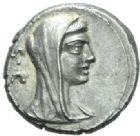 Photo numismatique  MONNAIES RÉPUBLIQUE ROMAINE P. Galba (vers 69)  Denier.