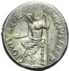 Photo numismatique  MONNAIES RÉPUBLIQUE ROMAINE C. Vibius C.f. Cn. Pansa Caetronianus (vers 48)  Denier.