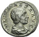 Photo numismatique  MONNAIES EMPIRE ROMAIN JULIA MAESA (soeur de Julia Domna +222)  Denier.
