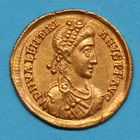 Photo numismatique  MONNAIES EMPIRE ROMAIN VALENTINIEN II (375-392)  Solidus.