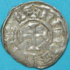 Photo numismatique  MONNAIES BARONNIALES Duché de BRETAGNE CONAN II (1047-1066) Denier de Rennes.