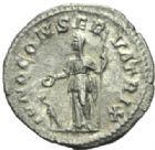 Photo numismatique  MONNAIES EMPIRE ROMAIN JULIA MAMAEA (mère d'Alexandre Sévère +235)  Denier.