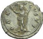 Photo numismatique  MONNAIES EMPIRE ROMAIN MAXIMIN Ier (235-238)  Denier.