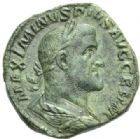 Photo numismatique  MONNAIES EMPIRE ROMAIN MAXIMIN Ier (235-238)  Sesterce.