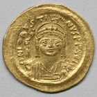Photo numismatique  MONNAIES EMPIRE BYZANTIN JUSTIN II (565-578)  Solidus.