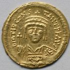 Photo numismatique  MONNAIES EMPIRE BYZANTIN TIBÈRE CONSTANTIN (578-582)  Solidus.