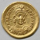 Photo numismatique  MONNAIES EMPIRE ROMAIN ARCADIUS (383-408)  Solidus.