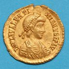 Photo numismatique  MONNAIES EMPIRE ROMAIN VALENTINIEN III (425-455)   Solidus.