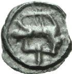 Photo numismatique  MONNAIES GAULE - CELTES SENONES (région de Sens)  Potin.