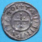 Photo numismatique  MONNAIES CAROLINGIENS LOTHAIRE Ier, empereur (817-855)  Denier frappé à Dorestadt.
