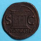 Photo numismatique  MONNAIES EMPIRE ROMAIN OCTAVE-AUGUSTE. (Empereur en 29 - Auguste 27 av.-14 ap. JC)  Dupondius frappé sous Tibère.