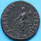 Photo numismatique  MONNAIES EMPIRE ROMAIN DOMITIEN César (69-81) Auguste (81-96)  As.