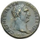 Photo numismatique  MONNAIES EMPIRE ROMAIN TRAJAN (98-117)  Sesterce.