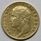 Photo numismatique  MONNAIES MODERNES FRANÇAISES NAPOLEON Ier, empereur (18 mai 1804- 6 avril 1814)  20 francs or.