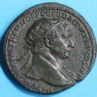 Photo numismatique  MONNAIES EMPIRE ROMAIN TRAJAN (98-117)  Dupondius.