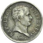 Photo numismatique  MONNAIES MODERNES FRANÇAISES NAPOLEON Ier, empereur (18 mai 1804- 6 avril 1814)  Quart de franc