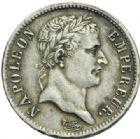 Photo numismatique  MONNAIES MODERNES FRANÇAISES NAPOLEON Ier, empereur (18 mai 1804- 6 avril 1814)  1 Franc.