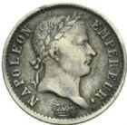 Photo numismatique  MONNAIES MODERNES FRANÇAISES NAPOLEON Ier, empereur (18 mai 1804- 6 avril 1814)  Quart de franc.