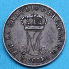 Photo numismatique  MONNAIES MODERNES FRANÇAISES MARIE-LOUISE, duchesse de Parme (1815-1847)  5 soldi.