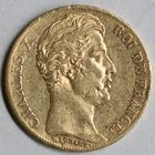Photo numismatique  MONNAIES MODERNES FRANÇAISES CHARLES X (16 septembre 1824-2 août 1830)  20 francs or.