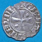 Photo numismatique  MONNAIES BARONNIALES Evêché de MEAUX RENAUD (1158-1161) Denier.