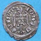 Photo numismatique  MONNAIES BARONNIALES Duché de LORRAINE JEAN Ier (1346-1389) Denier de Nancy.