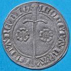 Photo numismatique  MONNAIES BARONNIALES Duché de LORRAINE JEAN Ier (1346-1389) Gros de Nancy.