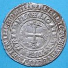Photo numismatique  MONNAIES BARONNIALES Comté de FLANDRE LOUIS de MÂLE (1346-1384) Double gros dit