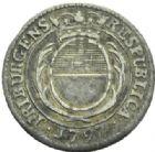 Photo numismatique  MONNAIES MONNAIES DU MONDE SUISSE FRIBOURG 7 kreuzer de 1797.