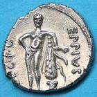Photo numismatique  MONNAIES RÉPUBLIQUE ROMAINE Q. Caecilius Metellus Pius Scipio (Imperator vers 47-46)  Denier.