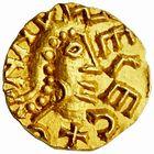 Photo numismatique  ARCHIVES VENTE 2009 -Coll B Chwartz 1 PEUPLES BARBARES MEROVINGIENS CITES LE MANS (Sarthe) 34- Triens de l'Eglise du Mans (Sarthe) par le monétaire (M)arcovius