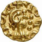 Photo numismatique  ARCHIVES VENTE 2009 -Coll B CHWARTZ 1 PEUPLES BARBARES MEROVINGIENS CITES ROUEN (Seine-Maritime) 36- Triens frappé à Rotomo Civ., Rouen (Seine-Maritime) par le monétaire Chagnoaldus
