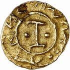 Photo numismatique  ARCHIVES VENTE 2009 -Coll B CHWARTZ 1 PEUPLES BARBARES MEROVINGIENS CITES Indéterminé 44- Triens indéterminé