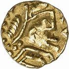 Photo numismatique  ARCHIVES VENTE 2009 -Coll B CHWARTZ 1 PEUPLES BARBARES MEROVINGIENS CITES Indéterminé 46- Triens indéterminé