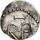 Photo numismatique  ARCHIVES VENTE 2009 -Coll B CHWARTZ 1 CAROLINGIENS PEPIN LE BREF (751- sacré le 28 juillet 754 - 24 septembre 768)  51- Denier d'Angers (Maine-et-Loire)