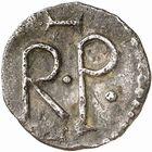 Photo numismatique  ARCHIVES VENTE 2009 -Coll B CHWARTZ 1 CAROLINGIENS PEPIN LE BREF (751- sacré le 28 juillet 754 - 24 septembre 768)  52- Denier d'Angers (Maine-et-Loire)