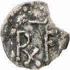 Photo numismatique  ARCHIVES VENTE 2009 -Coll B CHWARTZ 1 CAROLINGIENS PEPIN LE BREF (751- sacré le 28 juillet 754 - 24 septembre 768)  53- Denier de Dax (Landes)