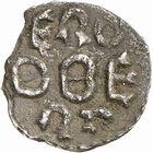 Photo numismatique  ARCHIVES VENTE 2009 -Coll B CHWARTZ 1 CAROLINGIENS PEPIN LE BREF (751- sacré le 28 juillet 754 - 24 septembre 768)  54- Denier au nom d'Erodbert ou Rodbertus (comte et missus royal)