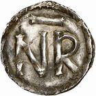 Photo numismatique  ARCHIVES VENTE 2009 -Coll B CHWARTZ 1 CAROLINGIENS PEPIN LE BREF (751- sacré le 28 juillet 754 - 24 septembre 768)  56- Denier de Narbonne (Aude)