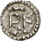 Photo numismatique  ARCHIVES VENTE 2009 -Coll B CHWARTZ 1 CAROLINGIENS PEPIN LE BREF (751- sacré le 28 juillet 754 - 24 septembre 768)  67- Denier de Verdun (Meuse)