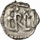 Photo numismatique  ARCHIVES VENTE 2009 -Coll B CHWARTZ 1 CAROLINGIENS CARLOMAN (768-771)  69- Denier de Clermont-Ferrand (Puy-de-Dôme)