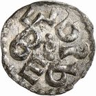 Photo numismatique  ARCHIVES VENTE 2009 -Coll B CHWARTZ 1 CAROLINGIENS CHARLEMAGNE, roi (768-800) empereur (800-814) Premier type (768 - avant 793/794) 70- Obole de Melle (Deux-Sèvres)